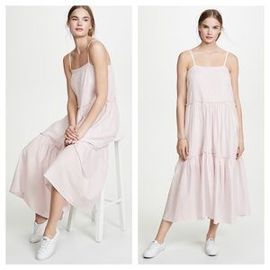 NATION Catherine Prairie Pastel Pink Cami Dress
